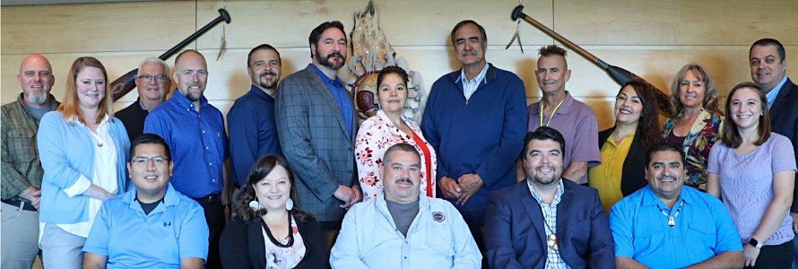 Members of the Makah Tribe and First Responder Network Authority