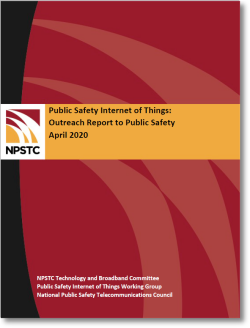 Public Safety Internet of Things Outreach Report Cover